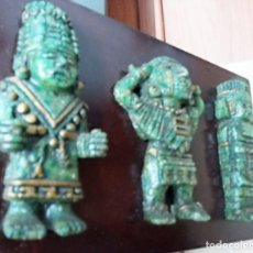 Antigüedades: FIGURAS CULTURA AZTECA. Lote 195896385