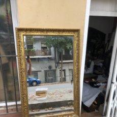 Antigüedades: PRECIOSO ESPEJO MADERA . MARCO ALTA CALIDAD .GRANDES DIMENSIONES 114X76 CM . VER FOTOS. Lote 277560558