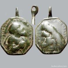 Antigüedades: MEDALLA RELIGIOSA EN METAL, SIGLO XVIII. 1019-7,5-M. Lote 277609548