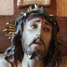 Antigüedades: ANTIGUO CRISTO CRUCIFICADO. Lote 277615933