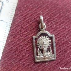 Antigüedades: VIRGEN DEL PILAR. MEDALLA DE PLATA. Lote 277644223