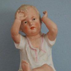 Antigüedades: BABY PIANO ELABORADO EN BISCUIT POLICROMADO. PPS. S. XX. MIDE 16 X 13,5 CM.. Lote 277656213