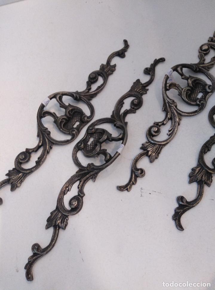 Antigüedades: Tiradores de armario antiguos. 38 cm - Foto 4 - 277715393