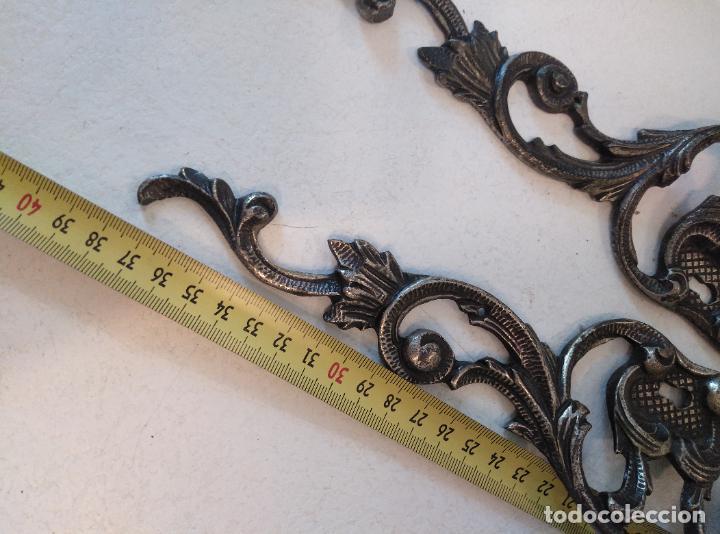 Antigüedades: Tiradores de armario antiguos. 38 cm - Foto 6 - 277715393
