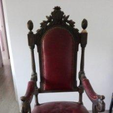 Antigüedades: SILLÓN BUTACÓN D. IGNACIO CLAVER. Lote 277727078