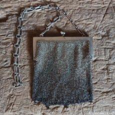Antigüedades: ANTIGUO BOLSO BOLSITA DE MALLA ALPACA / MONEDERO. Lote 277748873