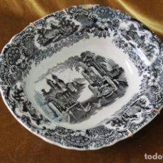 Antigüedades: ANTIGUA FUENTE/ENSALEDERA DE PICKMAN, SEVILLA, SELLO DE MARCA ACREDITATIVO, SELLO 22.. Lote 277762878