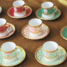 Antigüedades: JUEGO DE CAFÉ DE PORCELANA DE LIMOGES, MARCA BARDET.1260. Lote 277764733