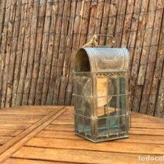 Antigüedades: ANTIGUO FAROL DE BARCO. Lote 277820963