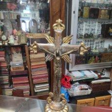 Antigüedades: CRUCIFIJO DE MADERA PRINCIPIO DE SIGLO. Lote 277821028