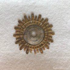 Antigüedades: RESPLANDOR - CORONA - AUREOLA / CAP I POTA - IMAGEN RELIGIOSA - VIRGEN - SANTO - NIÑO JESÚS. Lote 277829488