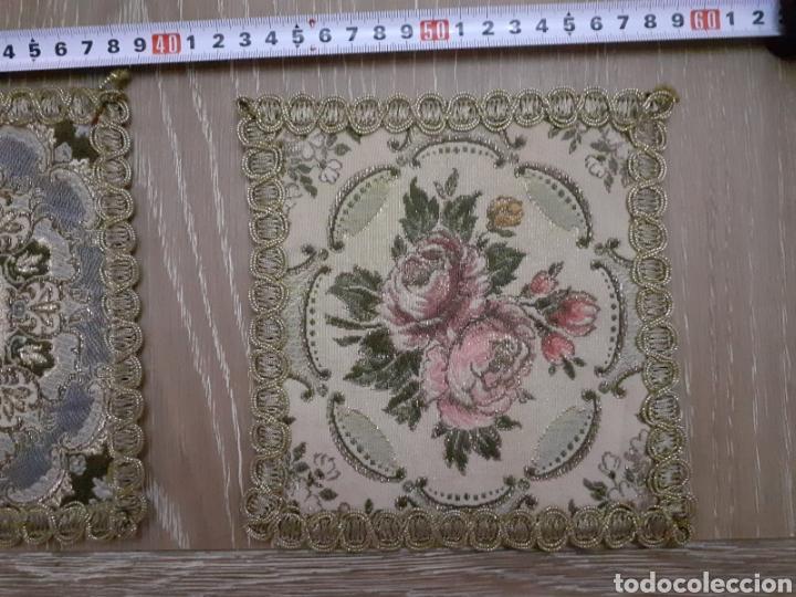 Antigüedades: Lote de tres manteles siglo XIX - Foto 2 - 277853423