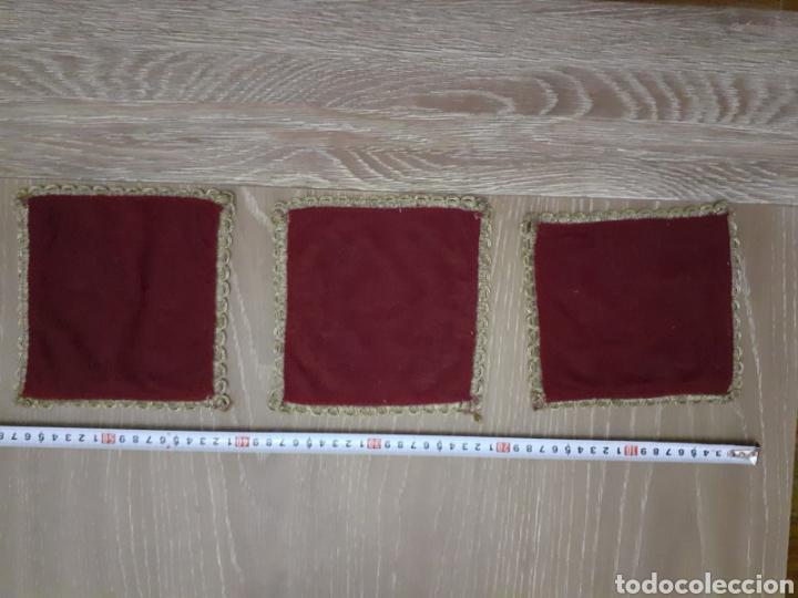 Antigüedades: Lote de tres manteles siglo XIX - Foto 4 - 277853423