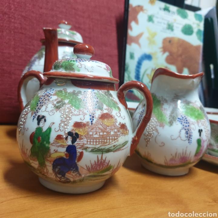 Antigüedades: Delicado Juego de Café Japones - Foto 3 - 278232168