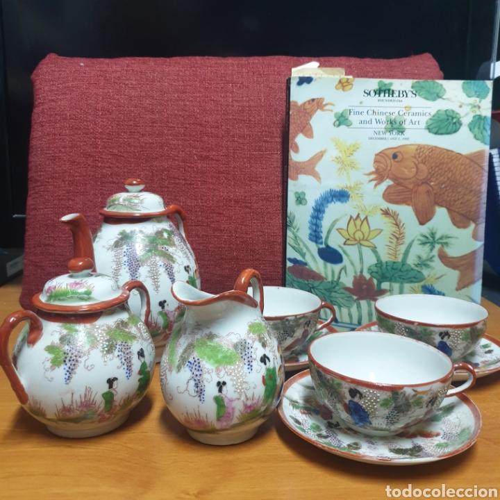 Antigüedades: Delicado Juego de Café Japones - Foto 4 - 278232168