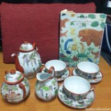 Antigüedades: DELICADO JUEGO DE CAFÉ JAPONES. Lote 278232168