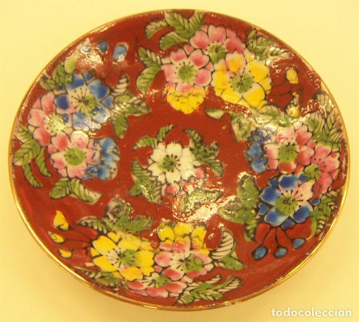 PLATITO DE PORCELANA FINA CHINA (Antigüedades - Porcelanas y Cerámicas - China)