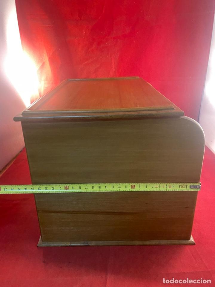 Antigüedades: PRECIOSO SECRETER O ESCRITORIO DE PERSIANA CORREDERA - Foto 7 - 278325643
