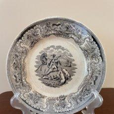 Antigüedades: PLATO HONDO DE CERÁMICA DE CARTAGENA. Lote 278383723