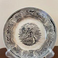 Antigüedades: PLATO HONDO DE CERÁMICA DE CARTAGENA. Lote 278384088