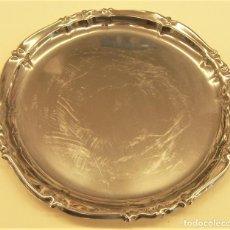 Antigüedades: BANDEJA DE METAL. Lote 278389108