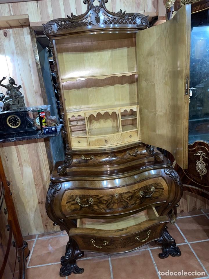 Antigüedades: Vitrina Luis XV - Foto 3 - 278398528