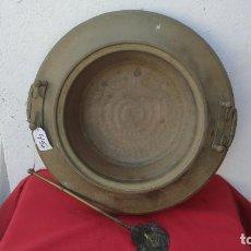 Antigüedades: BRTACERO CON MANILA. Lote 278412208