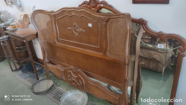 CAMA DE 135CM (Antigüedades - Muebles Antiguos - Camas Antiguas)