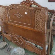 Antigüedades: CAMA DE 135CM. Lote 278412508