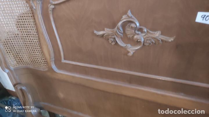 Antigüedades: cama de 135cm - Foto 2 - 278412508