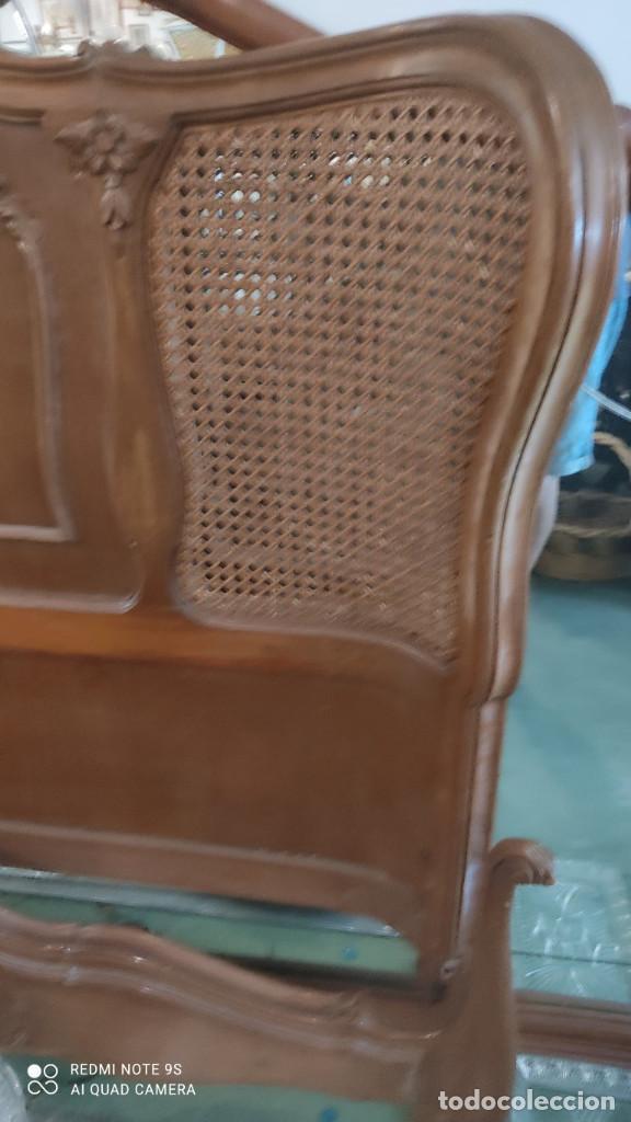 Antigüedades: cama de 135cm - Foto 3 - 278412508