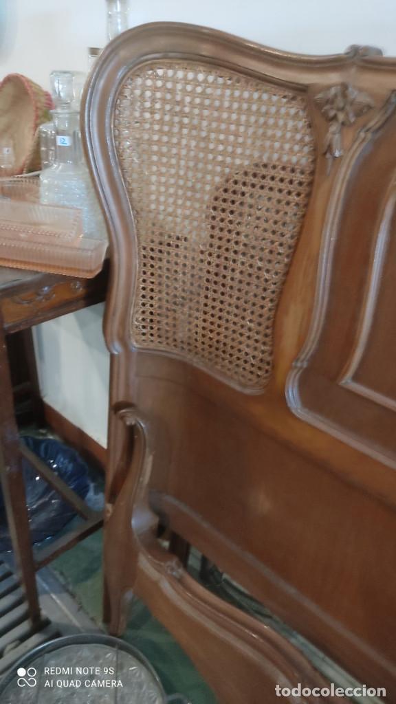 Antigüedades: cama de 135cm - Foto 5 - 278412508