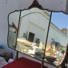 Antigüedades: ESPEJO TRIPTICO. Lote 278416668