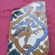 Antigüedades: AZULEJO TRIANA SIGLO XVIII O ANTERIOR. Lote 278418833