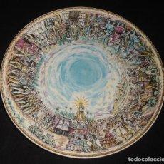 Antigüedades: PLATO ROYAL CHINA VIGO, SANTUARIO DE NUESTRA SEÑORA DE LA FUENSANTA , REPRODUCCION DE E. PALENZUELA. Lote 278424193