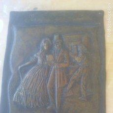 Antigüedades: ANTIGUA PLAQUE MARCADA. Lote 278433673