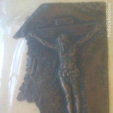 Antigüedades: MUY ANTIGUA PARTE DE PLAQUE EN COBRE. Lote 278433793