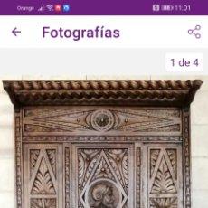 Antigüedades: PARAGUERO BASTONERO RECIBIDOR. Lote 278419218