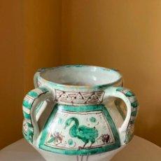 Antigüedades: CERAMICA DE TERUEL. A. NOVELLA. Lote 278471378
