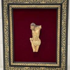Antigüedades: ANTIGUO CRISTO FINALES XVIII - XIX EN MARCO NAPOLEÓN FRANCÉS. Lote 278518128