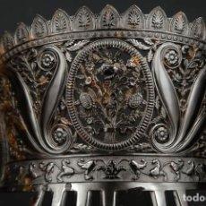 Antigüedades: ANTIGUA PEINETA DE CAREY. Lote 278518548