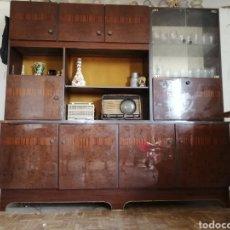 Antigüedades: MUEBLE DE SALON RETRO. Lote 278536343