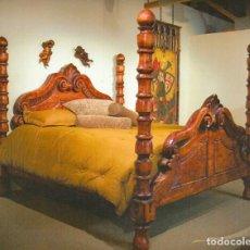 Antigüedades: CAMA MEDITERRÁNEA.. Lote 278542703