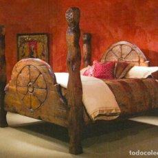 Antigüedades: CAMA MONASTERIO.. Lote 278542738