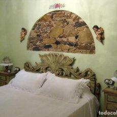 Antigüedades: CAMA BARROCA CON MESITAS.. Lote 278542753