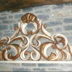 Antigüedades: CABEZAL BARROCO.. Lote 278542788