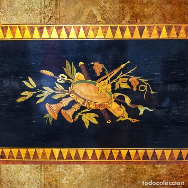 MESA SORRENTINA SIGLO XIX (Antigüedades - Muebles Antiguos - Mesas Antiguas)