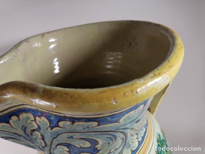 Antigüedades: BONITO BASTONERO - PARAGUERO EN FORMA DE JARRA EN CERAMICA DE TALAVERA (NIVEIRO) - Foto 16 - 278548053