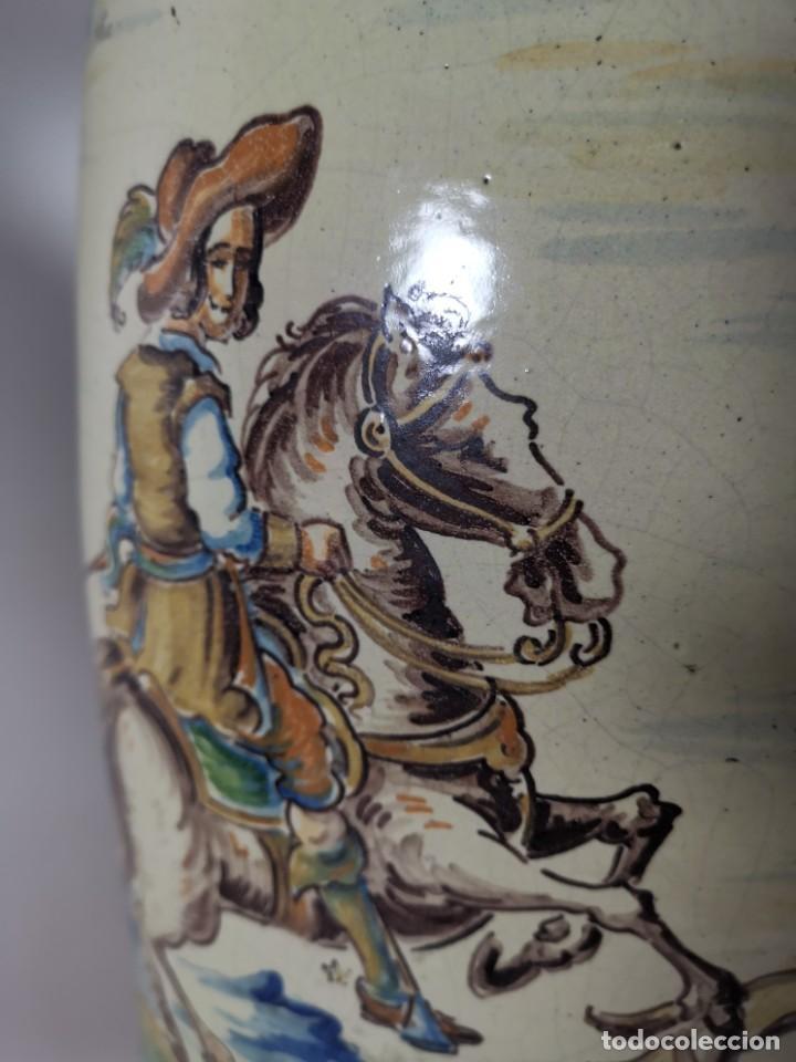 Antigüedades: BONITO BASTONERO - PARAGUERO EN FORMA DE JARRA EN CERAMICA DE TALAVERA (NIVEIRO) - Foto 22 - 278548053