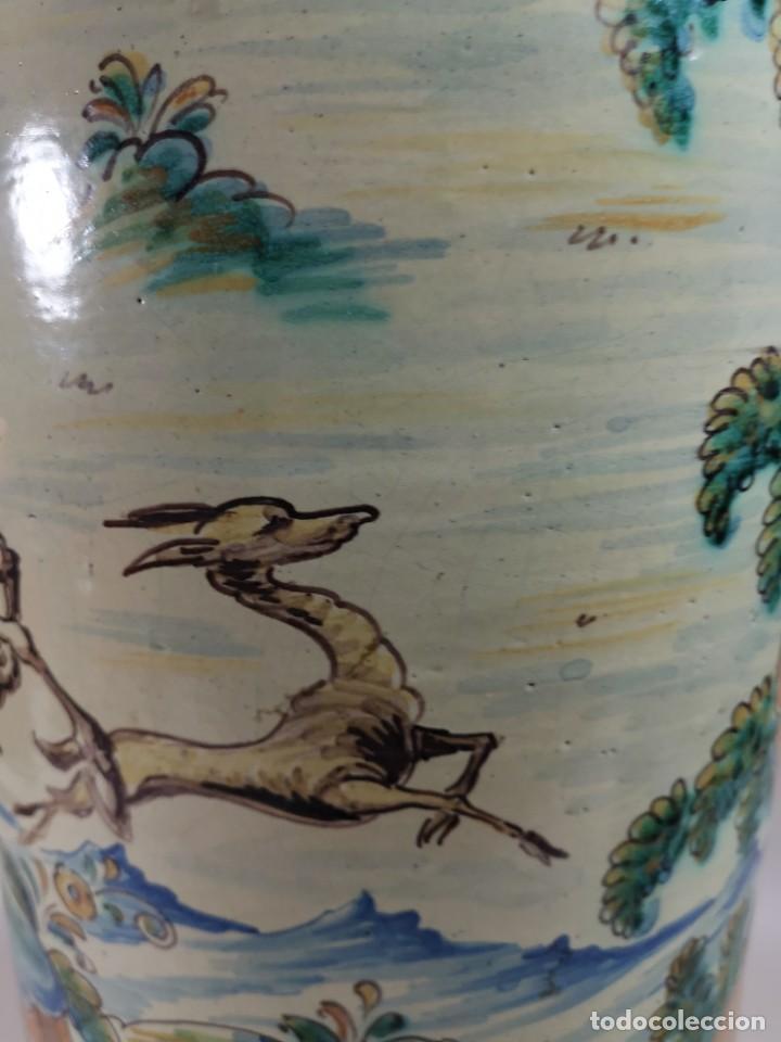 Antigüedades: BONITO BASTONERO - PARAGUERO EN FORMA DE JARRA EN CERAMICA DE TALAVERA (NIVEIRO) - Foto 23 - 278548053